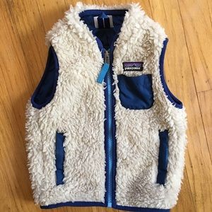 Patagonia Retro X fleece vest, size 12-18 mo
